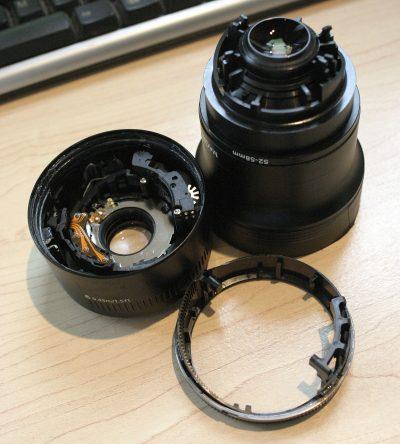 Inside a Canon 50mm Prime Len f1.8
