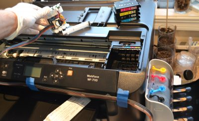 Add a CISS to your Printer for Cheap Ink