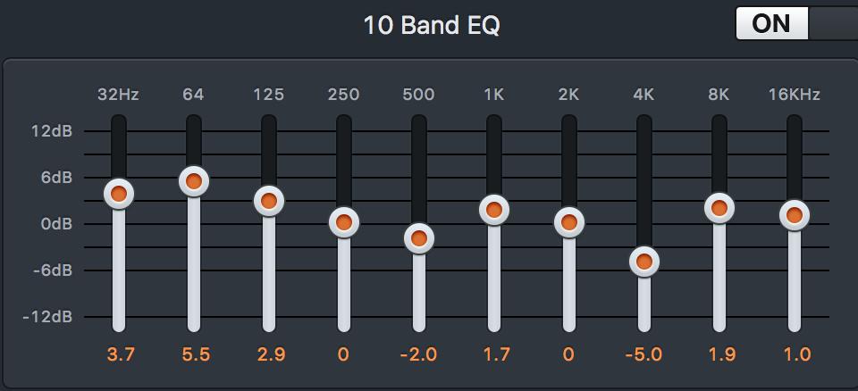 10 Band EQ