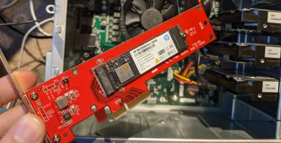 Installing Ubuntu Linux on a PCIe NVMe drive